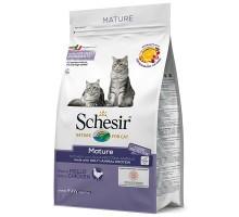Schesir Cat Mature ШЕЗИР ДЛЯ ПОЖИЛЫХ сухой монопротеиновый суперпремиум корм для пожилых котов