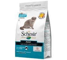 Schesir Cat Adult Fish ШЕЗИР ВЗРОСЛЫЙ РЫБА сухой монопротеиновый суперпремиум корм для котов