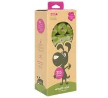 Earth Rated Unscented Eco-friendly Bags - Пакеты в рулонах (21 рулон по 15 пакетов) с запахом лаванды