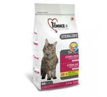 1st Choice Sterilized Chicken Сухой корм для кастрированных котов и стерилизованных кошек