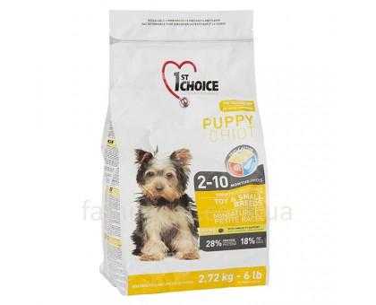 1st Choice Puppy Toy&Small Chicken Сухой корм для щенков мини и малых пород