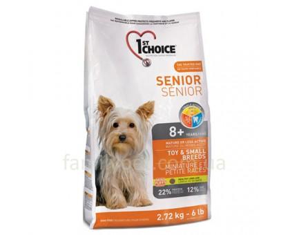 1st Choice Senior Toy&Small Breeds Сухой корм для пожилых или малоактивных собак мини и малых пород