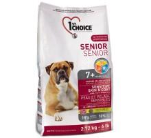 1st Choice Senior Sensitive Skin&Coat Lamb&Fish Сухой корм для пожилых или малоактивных собак