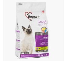 1st Choice Adult Finicky Chicken Корм для привередливых котов с курицей и финиками