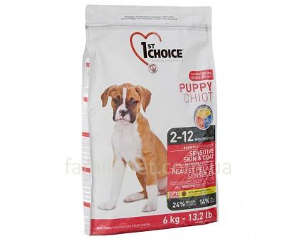 1st Choice Puppy Sensitive Lamb&Fish Cухой корм для щенков