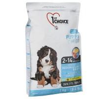 1st Choice Puppy Medium&Large Chicken Сухой корм для щенков средних и крупных пород