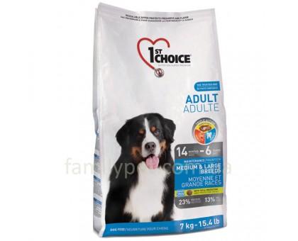 1st Choice Adult Medium&Large Chicken Корм для взрослых собак средних и крупных пород