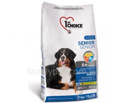 1st Choice Senior Medium&Large Chicken Сухой корм для пожилых собак средних и крупных пород