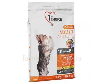 1st Choice Adult Toy & Small Chicken Сухой корм для взрослых собак мини и малых пород