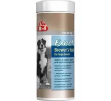 8 in 1 Excel Brewers Yeast for large breeds Комплекс витамин для собак крупных пород 80 таб