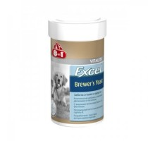 8in1 Excel Brewers Yeast  Пивные дрожжи для кошек и собак