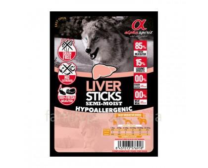 Alpha Spirit Dog Sticks Liver Лакомство палочки с ливером (4 шт, 16 шт, 30 шт)