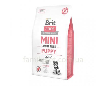 Brit  Care Grain Free Mini  Puppy  Lamb