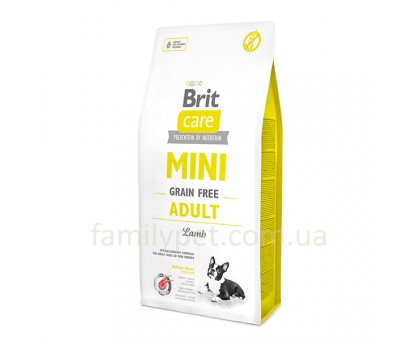 Brit  Care Grain Free Mini Adult