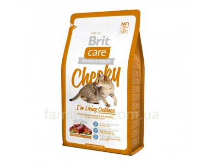 Brit Care Cat  Cheeky I am Living Outdoor