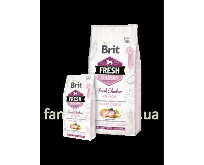 Brit Fresh Chicken/Potato Puppy 2,5 kg