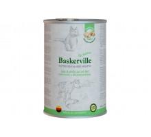 Baskerville Holistic Kalb und Lachs Консервы с телятиной и лососем для котов 400 г