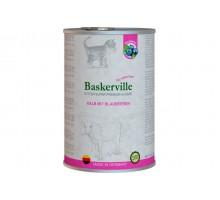 Baskerville Super Premium Kalb Mit Brlaubeeren Консервы для котят с телятиной и черникой 400гр