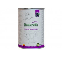 Baskerville Super Premium Kalb Mit Brombeeren Консервы для щенков с телятиной и ежевикой