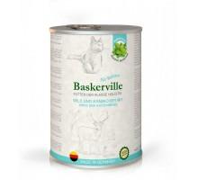 Baskerville Holistic Wild und Kaninchen Консервы для кошек с олениной и кроликом 400 гр