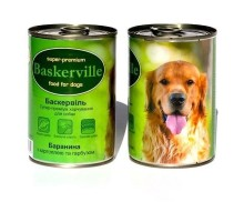 Baskerville Консервы для собак баранина с картофелем и тыквой