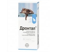 Bayer Drontal Таблетки для кошек от глистов