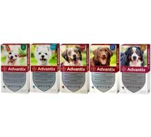 Bayer Advantix Капли от блох и клещей для собак
