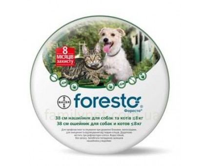 Bayer Foresto Ошейник для котов и собак