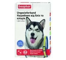 Beaphar Ошейник для собак от блох и клещей сине-желтый 65 см