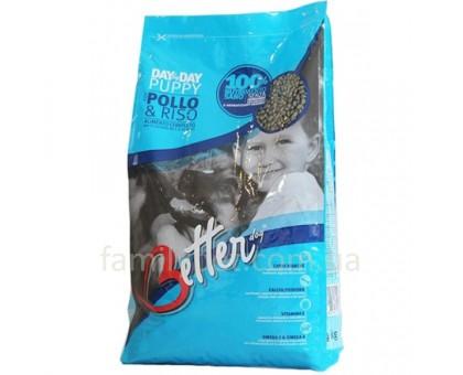 Better PUPPY Курица с рисом. Сухой корм для щенков в возрасте от 1 до 12 месяцев