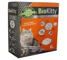 BioKitty Compact Size Activated Carbon Наполнитель с белого бентонита 6 л