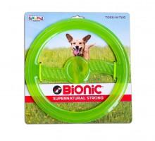 Bionic Opaque Toss-N-Tug Org Кольцо-игрушка для собак