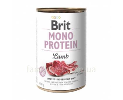 Brit Paté & Meat Dog Консерва для собак с ягненком 400 гр