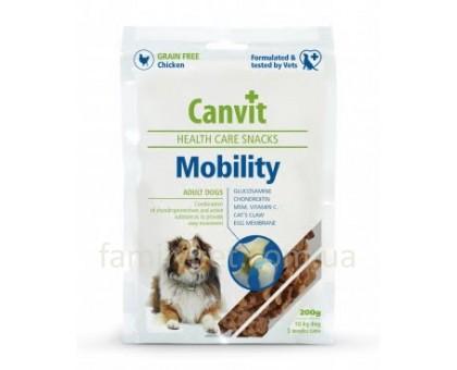 Canvit Mobility Полувлажное лакомство для собак 200г