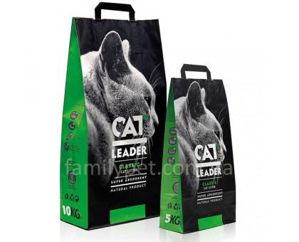 CAT LEADER супер-впитывающий наполнитель в кошачий туалет
