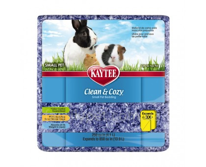 Kaytee Clean&Cozy Purple Подстилка для грызунов целлюлоза фиолетовая