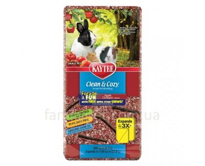 Kaytee Clean&Cozy Apple Подстилка для грызунов целлюлоза красная