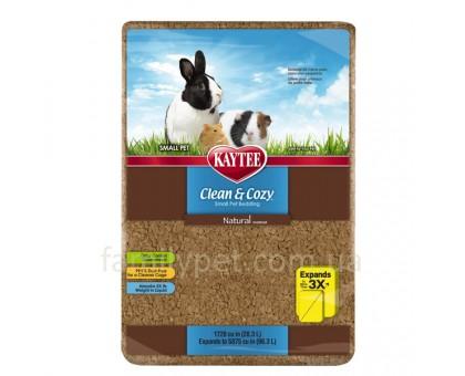 Kaytee Clean&Cozy Natural Клин&Кози Подстилка для грызунов, целлюлоза