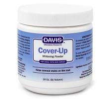 Davis Cover-Up Whitening Powder Маскирующая отбеливающая пудра для собак, котов 300 г