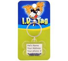Davis Bone ID Tag Брелок адресник на ошейник для собак