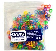 Davis Neon Резинка для шерсти Диаметр - 0,6 см