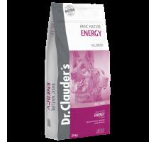 Dr.Clauder's Basic Nature Energy - сухой корм для взрослых собак всех пород с высокими энергетическими потребностями, 20 кг