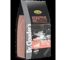Dr.Clauder's Sensetive Adult Salmon & Rice - сухой корм для взрослых собак с пищевой чувствительностью и потерей аппетита.