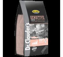 Dr.Clauder's Sensetive Junior Salmon & Rice - сухой корм для щенков всех пород при пищевых аллергиях и потере аппетита.