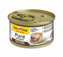 GimDog LD Pure Delight Консервы для собак курица с тунцом 85 г