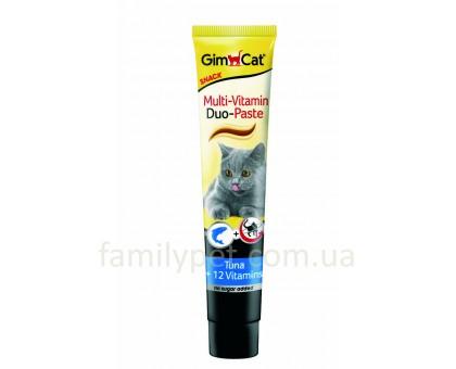 GimCat DUO Мультивитаминная паста с тунцом 50 г