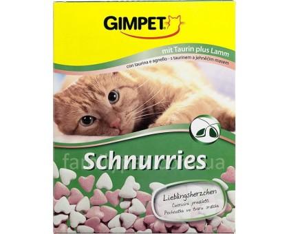 Gimpet Schnurries Витамины для кошек  с ягненком 650 таблеток