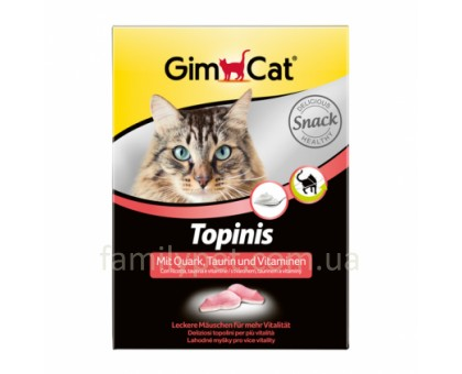 Gimpet Jokies Витамины для кошек улучшения обмена веществ 400 шт