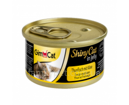 Shiny Cat Консервы для кошек с курицей 70 г