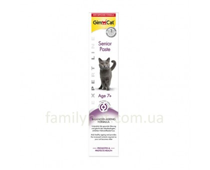 GimCat Expert Line Senior Паста для кошек старше 7 лет 50 г